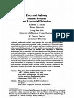 R02 - Smith 1988 - Envy & Jealousy. Semantic Problems & Experiential Distinctions