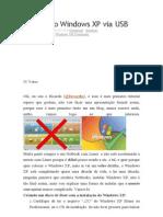 Instalando Windows XP via USB