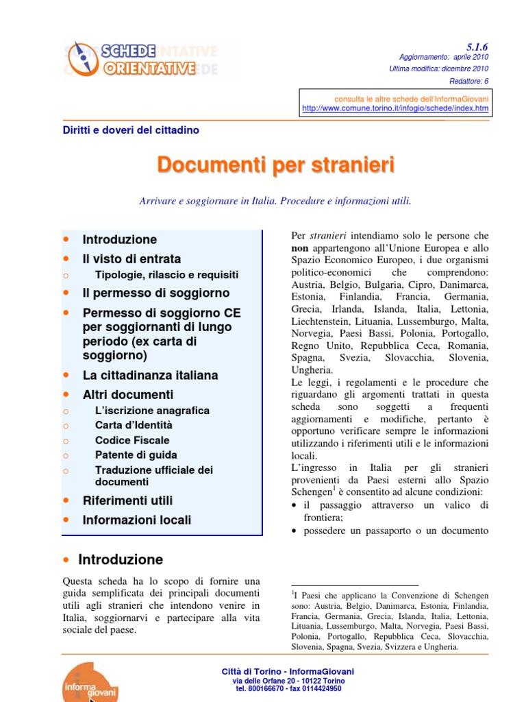 Document i Per St Ranieri | Passport | Home