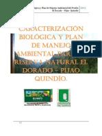 Ejemplo de CARACTERIZACIÓN BIOLÓGICA Y PLAN DE MANEJO AMBIENTAL