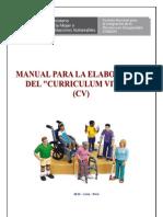 Manual de Curriculum Vitae