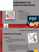 Procedimiento de Evaluacion de Proyectos