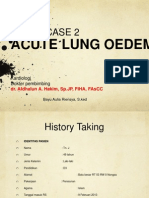 Acute Lung Edema.