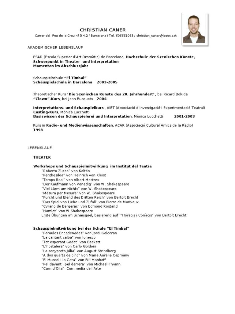 Ausgezeichnet übung Lebenslauf Für Schüler Zeitgenössisch - Ideen ...