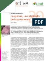 Bazile Didier. 2013 La quinua, un catalizador de innovaciones- Perspective N°20