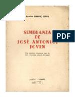 Semblanza de Jose Antonio joven