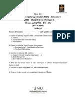MC0083 Assignment Winter 2012