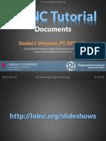 2013 02 14 - Clinical LOINC Tutorial - Document Ontology