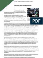 Agência FAPESP - Caminhos da comunicação para o conhecimento - 21_11_2012