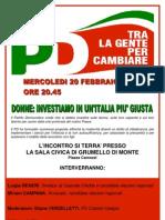 Volantino_incontro 20 Febbraio 2013 _elezioni 2013
