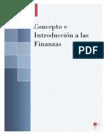 Concepto e Introduccion a Las Finanzas