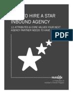 HubSpot eBook-Marketing Agency Hiring Guide Jan 2013