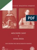 Libro Melchor Cano_Luisa Sigea
