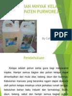 pemasaran minyak kelapa