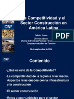 Competitividad Sector construcción