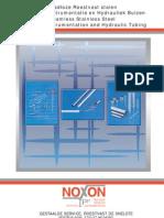 Noxon Capillary, Instrumentation and Hydraulic Tubing