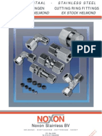 Noxon Cutting Ring Fittings