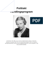 DÅK 2013 - Politiskt handlingsprogram