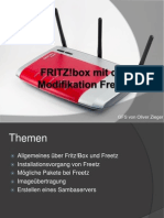 FRITZ!Box Mit Der Modifikation Freetz