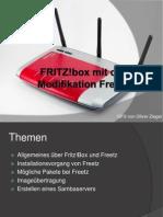 FRITZ!Box Mit Der Modifikation Freetz