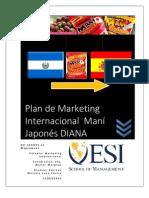 Plan de Marketing Internacionalsnack