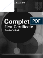Complete First Certificate Teacher-s Book