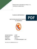 Plan de Contingencia El Nazareno Tipeo Con Areass