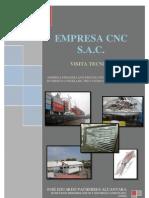 Informe de Visita Empresa de Productos Hidrobiológicos CNC S.A.C.