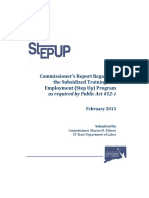 Step Up Full Report