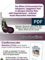 Cardioprotective Effect of Flavonoids From Eggplant