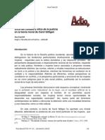 Fascioli Etica Del Cuidado y Etica de La Justicia