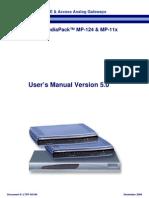 LTRT-65108 MP-11x & MP-124 H.323 User's Manual Ver 5.0