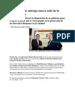 19-02-2013 Puebla noticias - Moreno Valle entrega nueva sede de la CDH Puebla.pdf