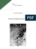 Secrets du Mémoire de la mue v 001