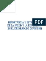 proyecto Importancia & estrat. de la educación y salud en el desarrollo de un pais