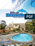 Blue Hawaiian Fiberglass Pools