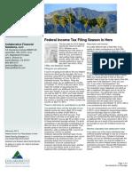 February Newsletter 2013