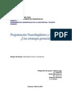 Programación Neurolingüstica