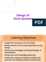 MBA IInd SEM POM Chapter03 Worksystems