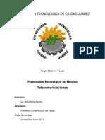 ITW11-Planeacion Estrategica en Las Telecomunicaciones-Sergio Calderon