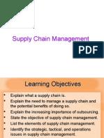 MBA IInd SEM POM Chapter 11 SCM