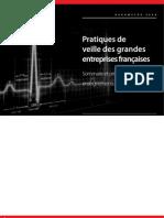 DIGIMIND Barometre 2008 des pratiques de Veille des entreprises françaises