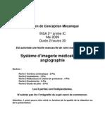 Examen de Conception Mecanique 2009 Corrige