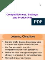 MBA IInd SEM POM Chapter 13 Competetiveness
