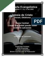 Libro de Las Lecciones 2009