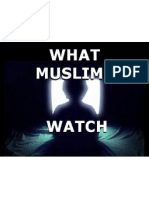 What Muslims Watch