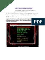 Auditoria Wireless Con Aeroscript