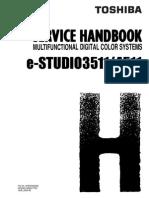 Toshiba E-Studio Copier 3511,4511 Service Handbook