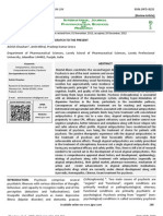 20 Vol. 4, Issue 1, January 2013, IJPSR, RE 2032, Paper 20