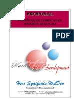 Proposal Penawaran Website Sekolah by Heri Syaifudin SMK Muhammadiyah 3 Surakarta